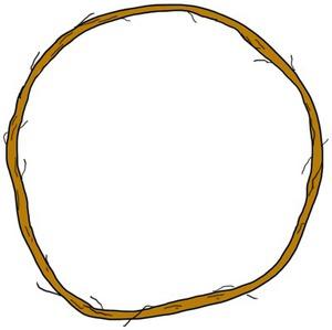 Loop of twine