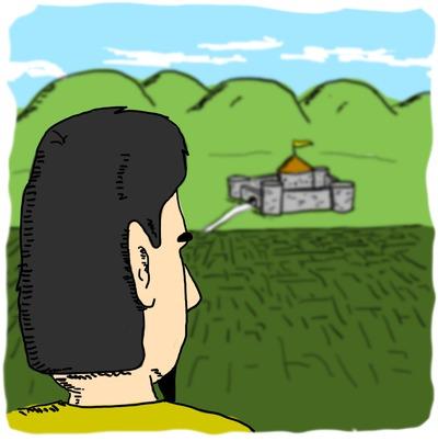 Fabian considers curmudgeon castle