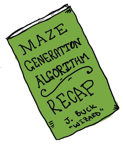 Maze Generation Algorithm Recap