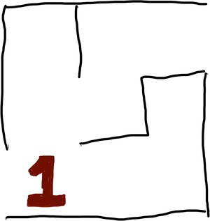 Dijkstra: Step 1