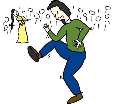 Fabian dancing